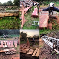 Milled timber
